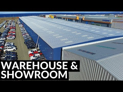 Warehouse & Showroom, Steel Building