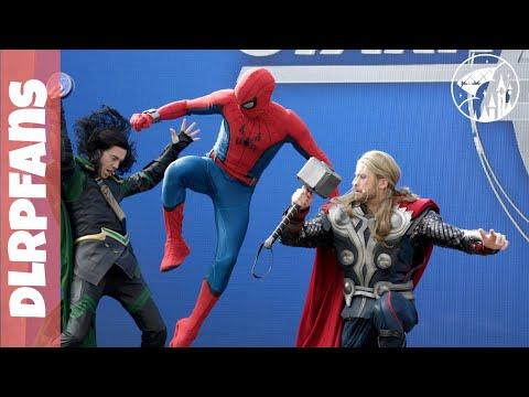 Disneyland Paris Stark Expo Complete show 4K multicam Marvel season of Super Heroes 2019