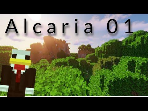 ALCARIA #01 : Début de l'aventure en survie