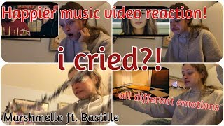 i cried. REACTING TO THE HAPPIER MUSIC VIDEO!