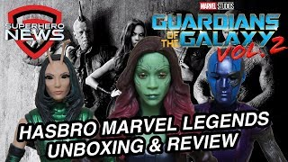Hasbro Marvel Legends Guardians of the Galaxy Vol. 2 (Wave 2) Unboxing & Review