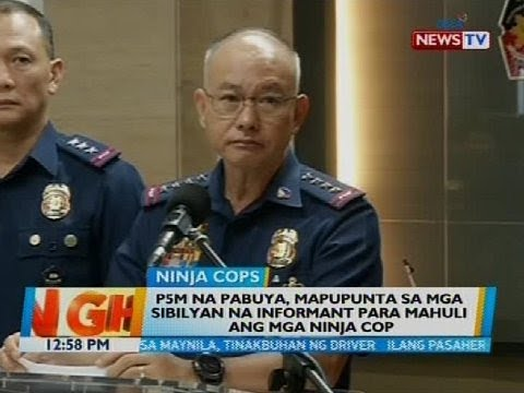 Duterte's offer of P5M for 'ninja cops' will be given to civilian