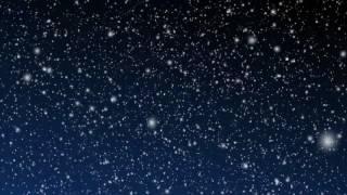 снегопад . футаж