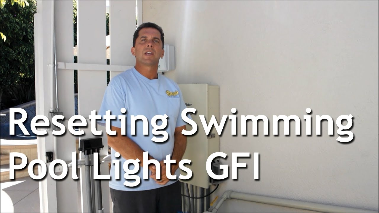 Resetting Swimming Pool Lights Gfi Youtube Spa Gfci Wiring Diagram