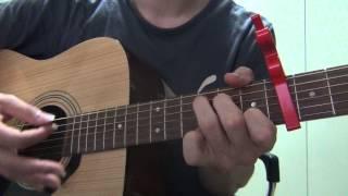 [기타팝]빅뱅(Big Bang) If You 쉬운 기타 (easy guitar stroke ver) (3/3)