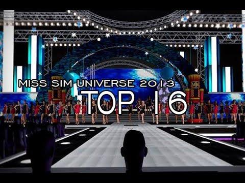 Miss Sim Universe 2013 - Top 16