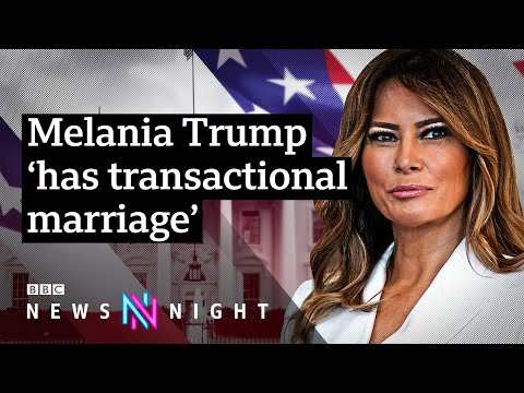 Melania Trump has 'a transactional marriage', says ex-aide Stephanie Winston Wolkoff - BBC Newsnight