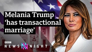 In her only uk broadcast interview, stephanie winston wolkoff - melania trump's former friend and aide joins newsnight's kirsty wark to discuss relatio...