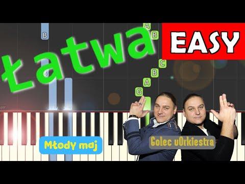 🎹 Młody maj (GOLEC uORKIESTRA) - Piano Tutorial (łatwa wersja) 🎹