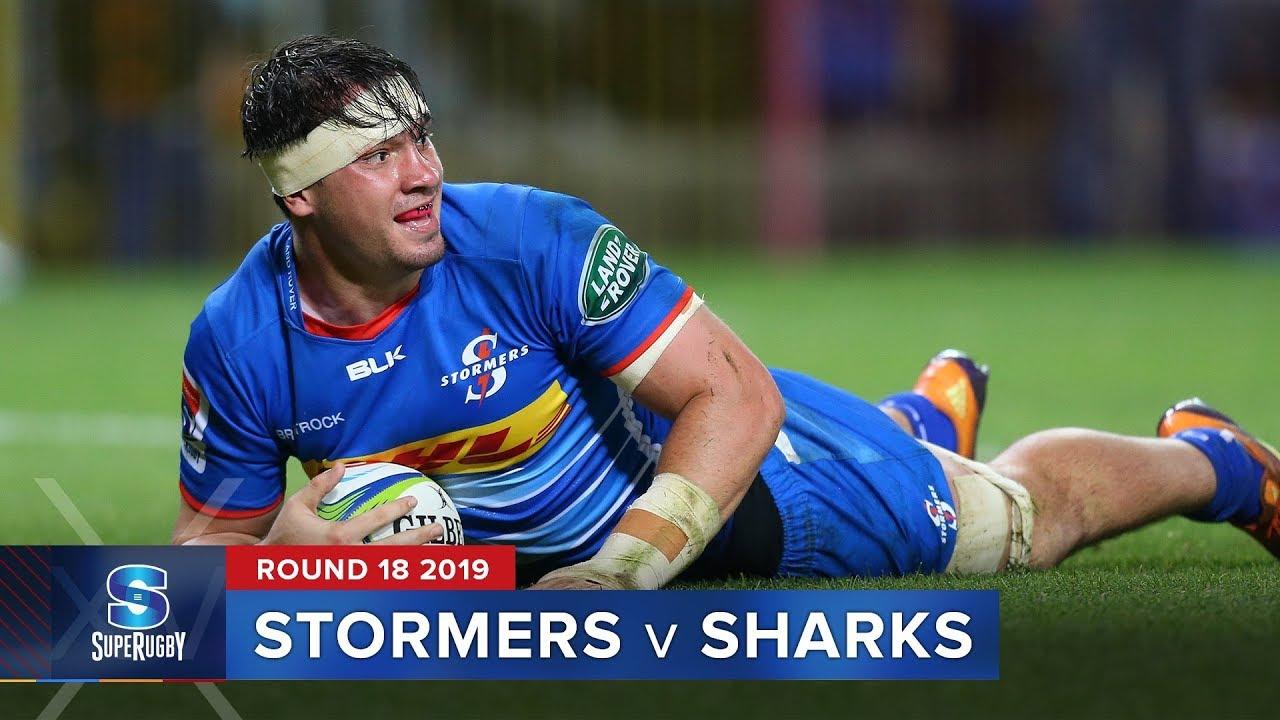Stormers v Sharks | Super Rugby 2019 Rd 18 Highlights
