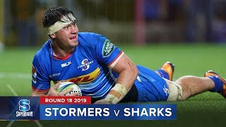 Stormers v Sharks | Super Rugby 2019 Rd 18 Highlights