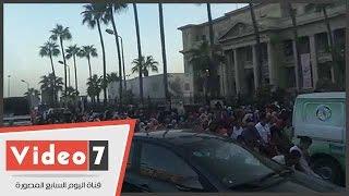بالفيديو.. الألاف يؤدون صلاة العيد بساحة مسجد القائد إبراهيم بالإسكندرية