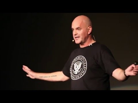 The Container Globe - a Punk Reimagining of Shakespeare's Theatre | Angus Vail | TEDxJerseyCity