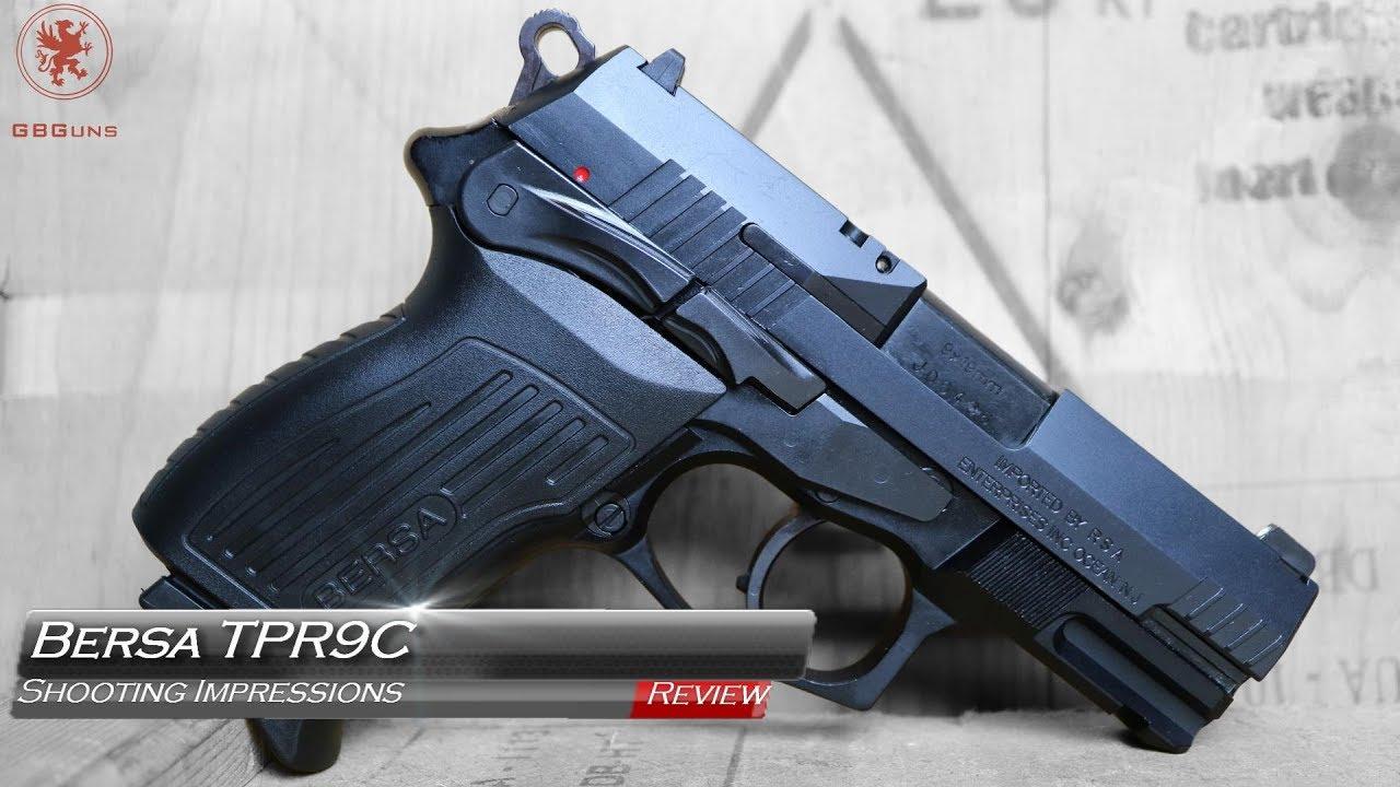 Bersa TPR9C Shooting Impressions