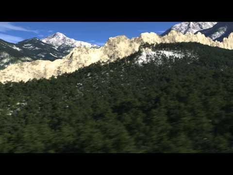 Spanish Peaks, southern Colorado