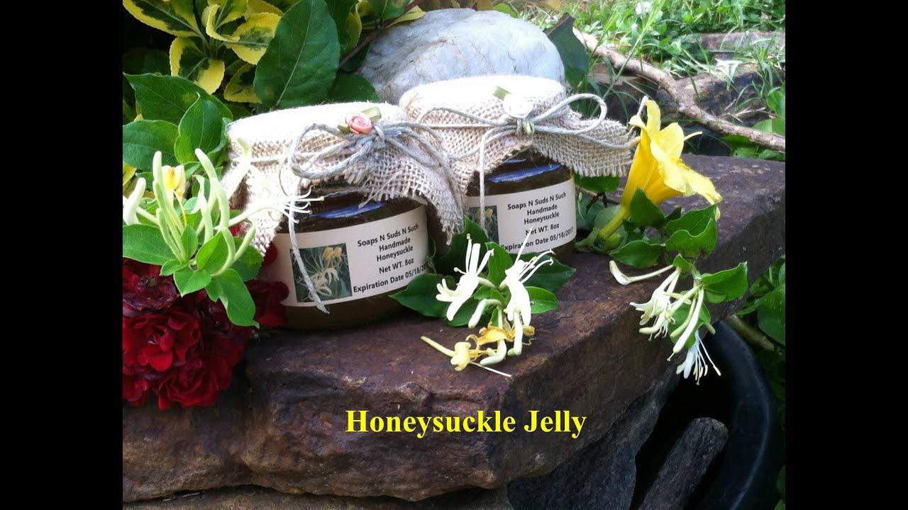 How To Make Jelly, Making Honeysuckle Flower Jam, How To Make Flower Jelly