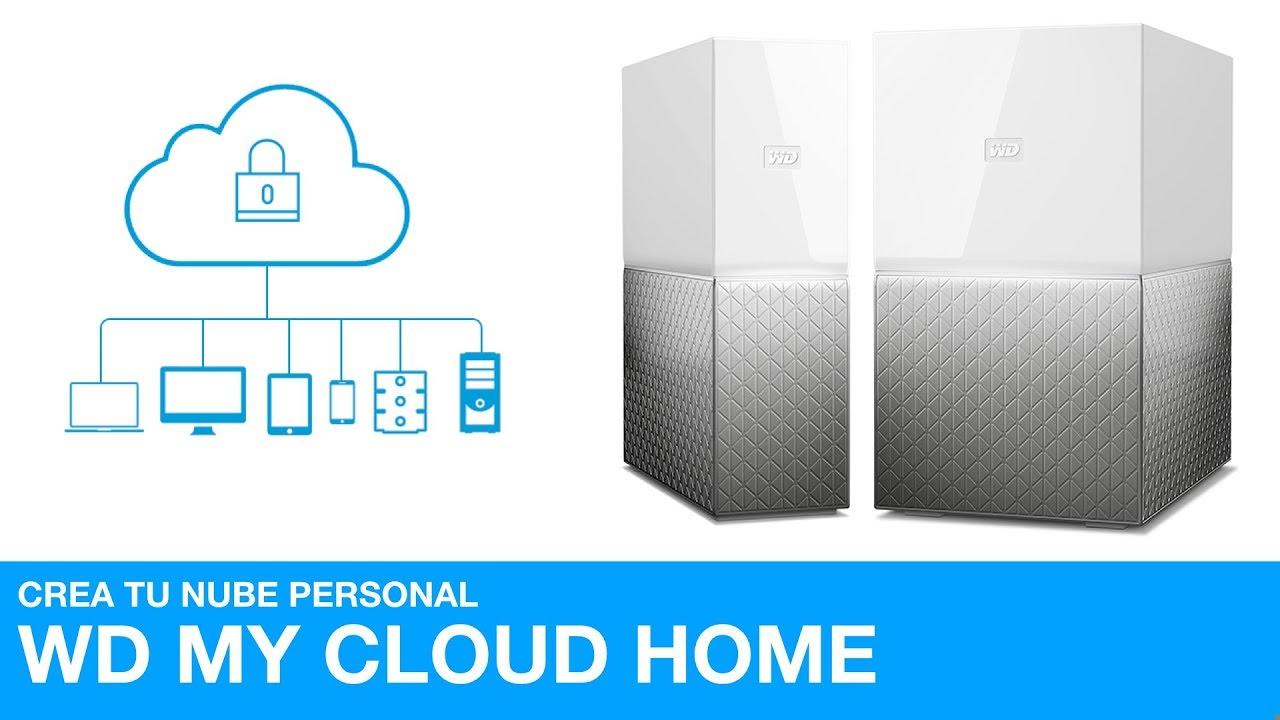 Crea tu propia nube con el WD My Cloud Home