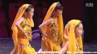 Chinese XinJiang Hot Dance 新疆舞【13】Cute Children Performance 《Western Flavor》 少儿新疆舞
