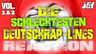 Die schlechtesten Deutschrap-Lines - Vol. 1&2 I REACTION