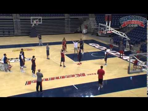 Mark Few Teaches Down Screen Defense!