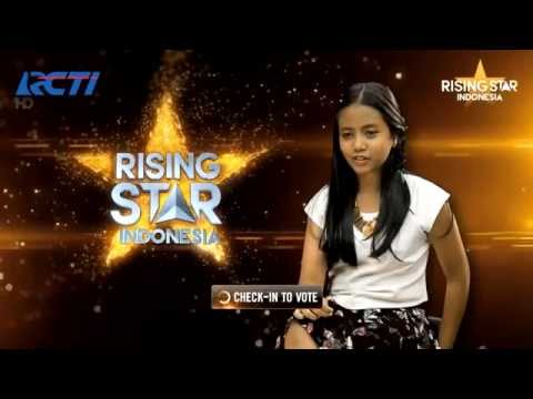 Hanin Dhiya I Surrender Celine Dion  Rising Star Indonesia Eps  Audition 2