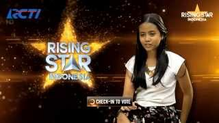 hanin dhiya i surrender celine dion rising star indonesia eps live audition 2