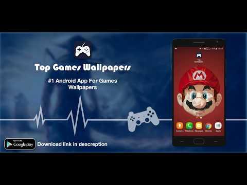 Top Gaming Wallpapers HD App Mobile Demo