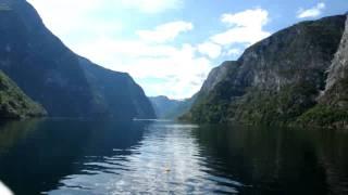 видео фьорды норвегии