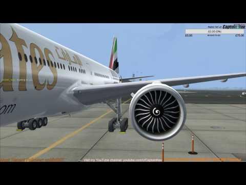 [FSX] PMDG 777-300ER | Dubai (OMDB) to Doha (OTHH) Part 1