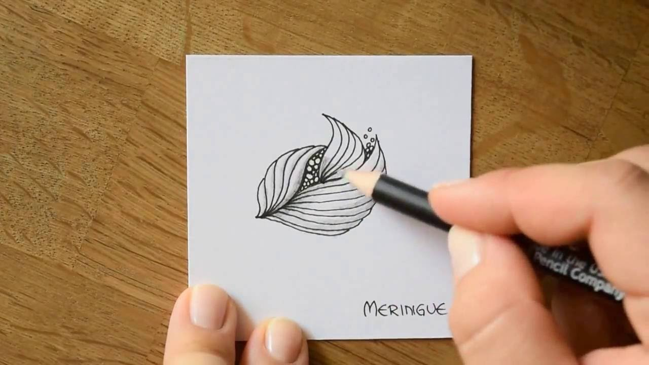 Zentangle Muster Paradox Youtube