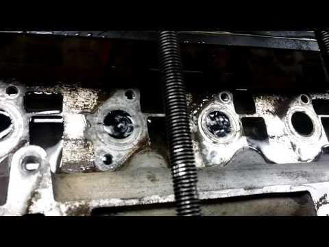 Опрессовка ГБЦ двигателя Renault K9K 1.5 dCi