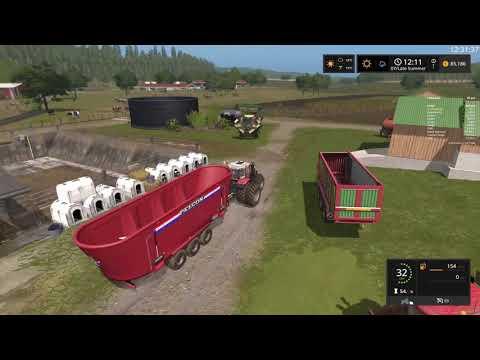 Farming Simulator 17 Timelapse #93   South Mountain Creamery. thumbnail