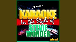 Blowin' in the Wind (In the Style of Stevie Wonder) (Karaoke Version)