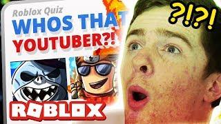 Guess That Robox YouTuber! (Roblox Quiz)