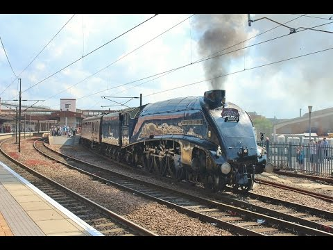LNER A4 No 60007 Sir Nigel Gresley - The Cathedrals Express - York & Northallerton - 5th Jul 2015
