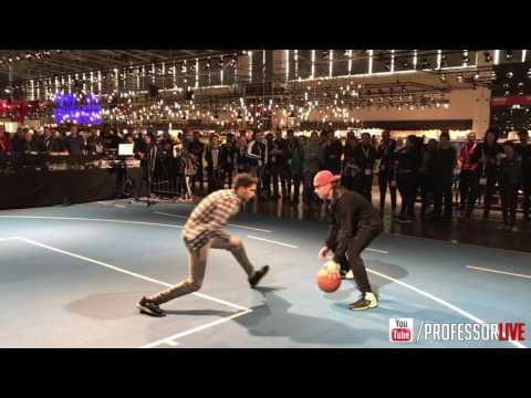 The Professor vs Fans in Germany at ISPO