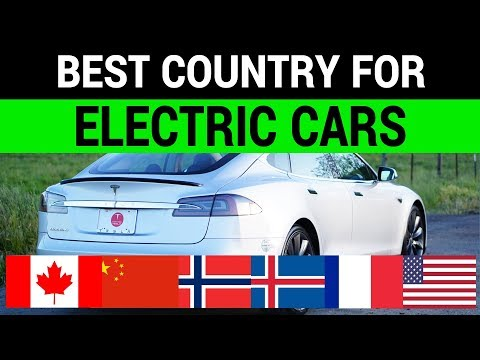 Best Country For Electric Cars: US vs. China vs. Norway vs. Canada