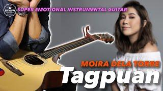 Moira Dela Torre  - Tagpuan instrumental guitar karaoke version cover with lyrics