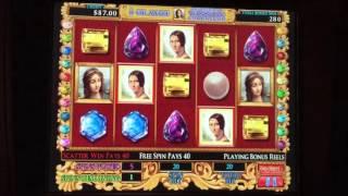 Davinci Diamonds slot- $20 bet bonus!