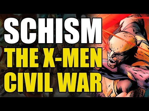 Wolverine vs Cyclops/The X-Men Civil War (X-Men: Schism)