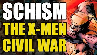 Wolverine vs Cyclops/The X-Men Civil War (X-Men: Schism)