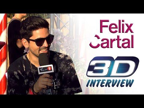 Tomorrowland 3D interview - FELIX CARTAL (FUN 1 TV)