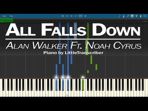 Alan Walker - All Falls Down (Piano Cover) by LittleTranscriber (feat Noah Cyrus)