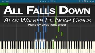 Download Lagu Alan Walker - All Falls Down (Piano Cover) by LittleTranscriber (feat Noah Cyrus) Mp3
