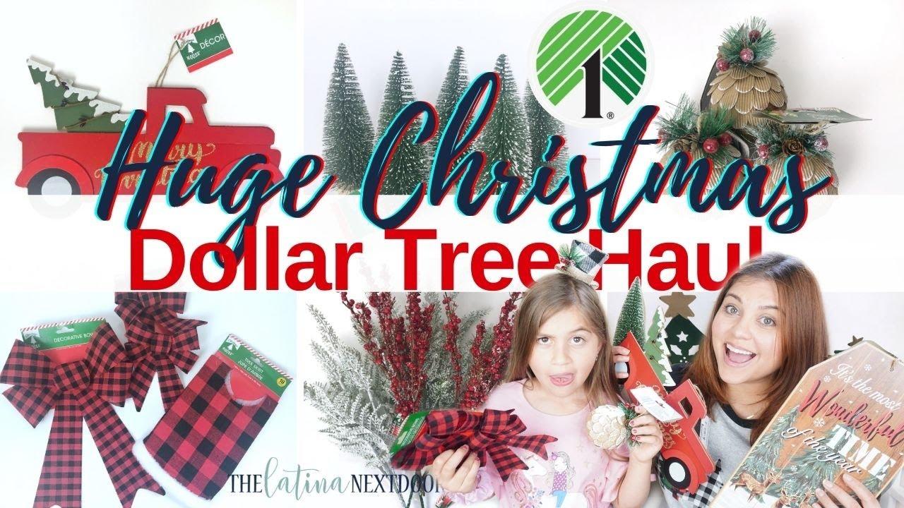 HUGE DOLLAR TREE CHRISTMAS HAUL 2020