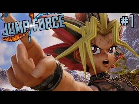 WELCOME TO TEAM J-FORCE! || Jump Force Playthrough Episode 1