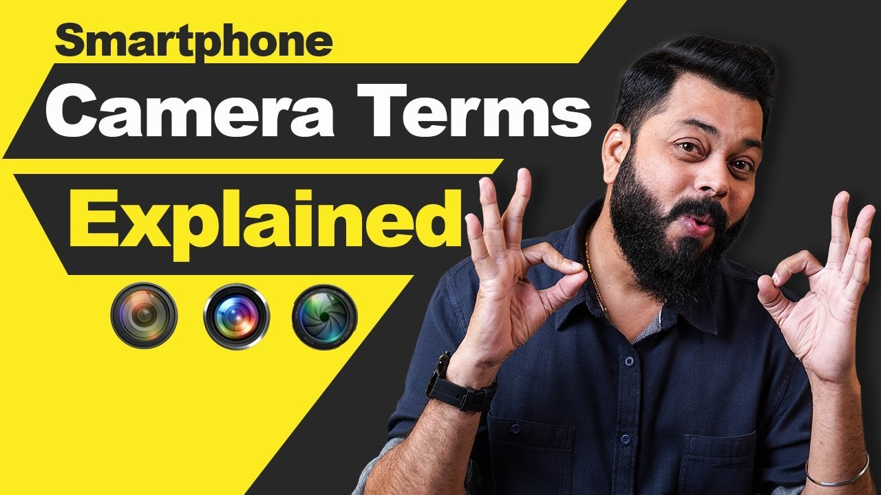 Smartphone Camera Terms Explained ⚡⚡⚡ Aperture, ISO, F-Stop, Bokeh #BackToBasics