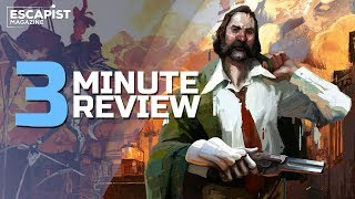 Disco Elysium | Review in 3 Minutes (Video Game Video Review)