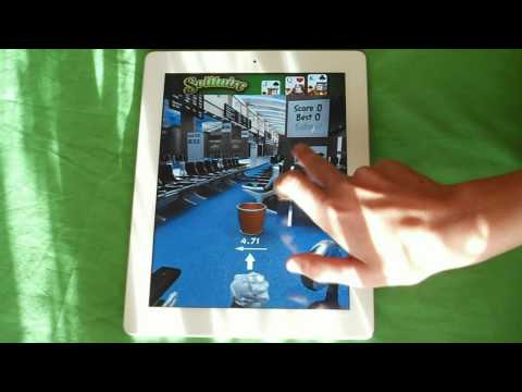 App Review: Paper Toss HD and World Tour HD