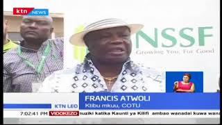 Francis Atwoli amemshutumu Naibu Rais William Ruto kwa misururu ya michango
